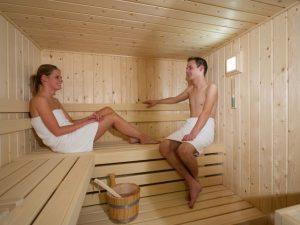 vakantiehuisje sauna
